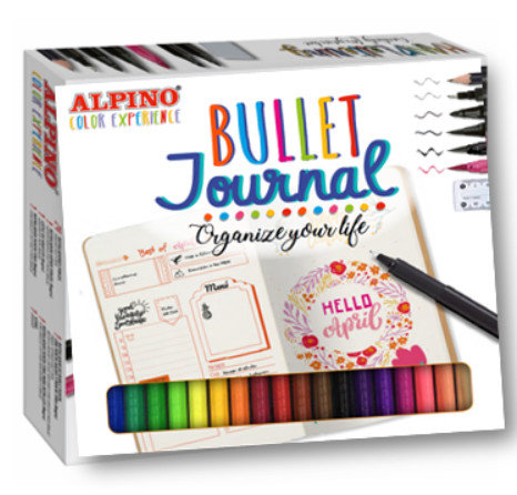Set rotuladores alpino color experience bullet journal kit