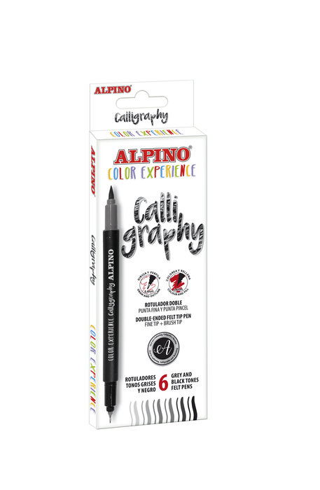 Set alpino color experience caligrafia
