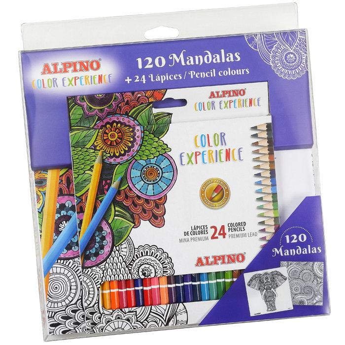 Set alpino color experience mandalas