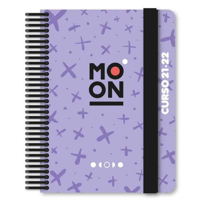 Expositor 12 agendas escolar 21-22 forr. moon