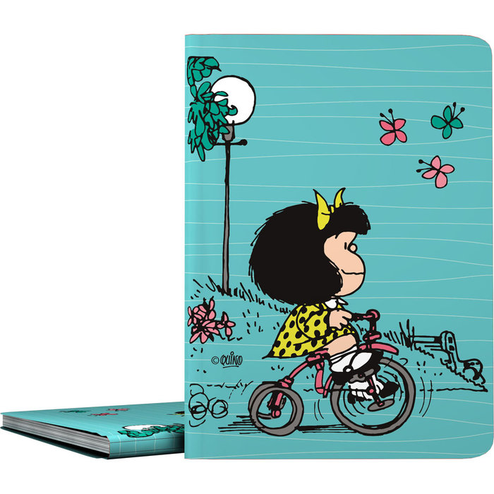 Carpeta 30 fundas pp mafalda 21 bici