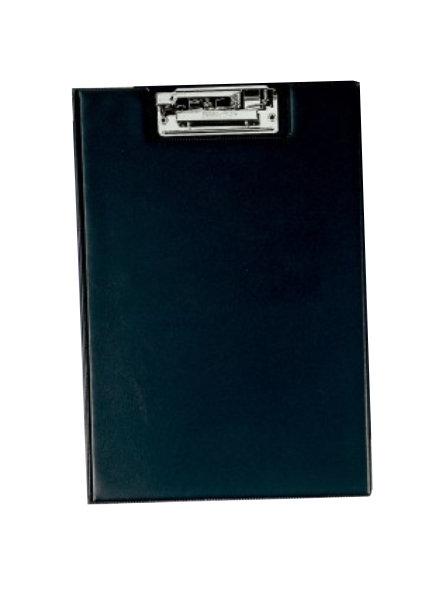 Carpeta fº clip troquelado bolsa negro