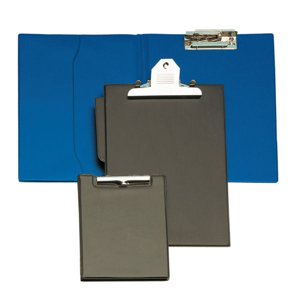 Carpeta fº clip superior azul