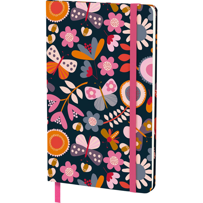 Cuaderno 13 x 21 + goma jproust 20 garden