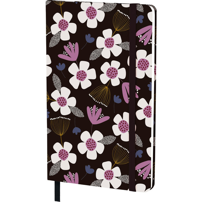 Cuaderno 13x21 + goma jproust 20 floral