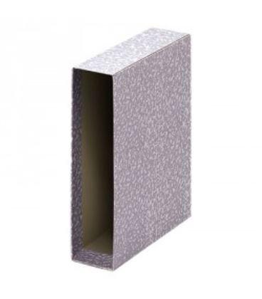 Caja archivador folio gris jaspeado