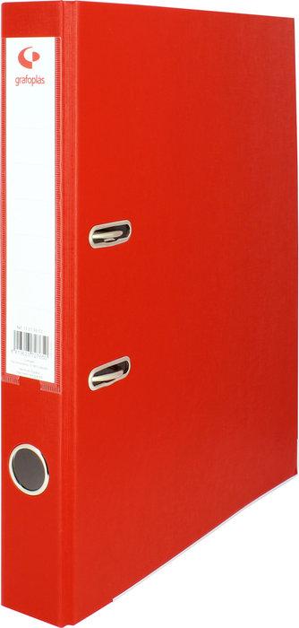 Archivador palanca folio 45 mm grafcolor rojo