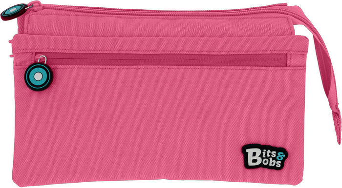 Portatodo cuadruple bits&bobs rosa