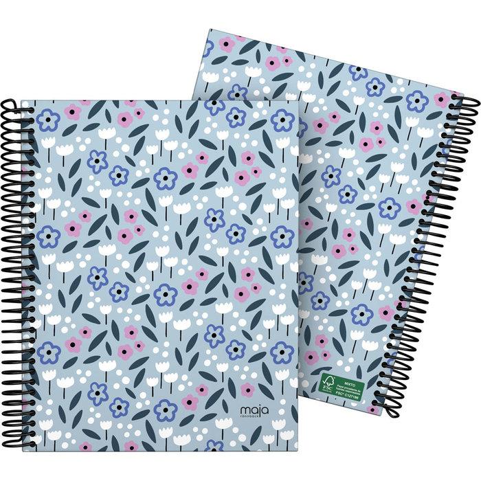 Cuaderno forrada a5 cuadros maja 20 spring