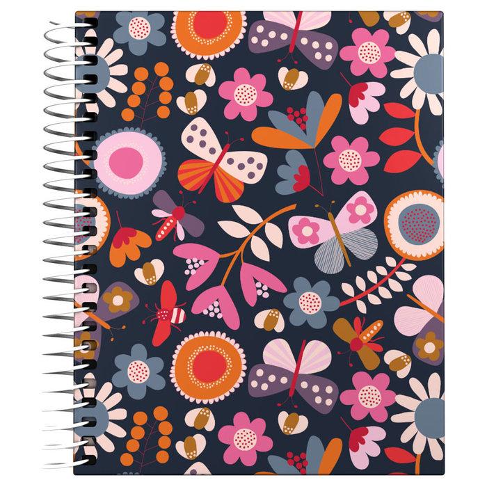 Cuaderno forrado a6 cuadricula jproust 20 garden