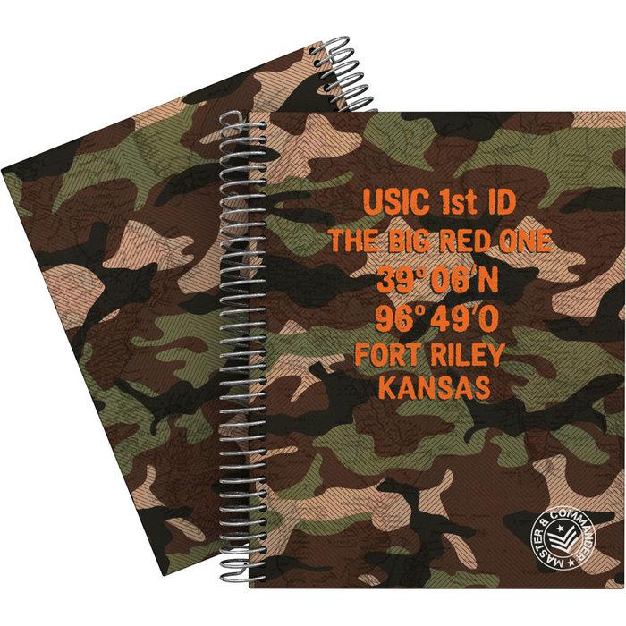 Cuaderno forrado a5 cuadros m&c verde 20