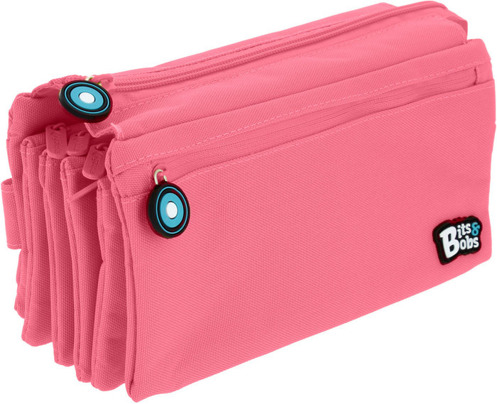 Portatodo cuadruple bits&bobs rosa claro 20