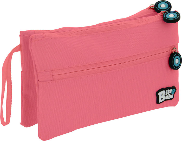 Portatodo doble plan bits&bobs rosa claro 20