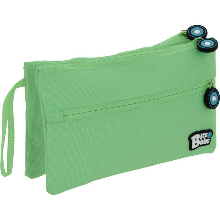 Portatodo doble plano bits&bobs verde mint 20