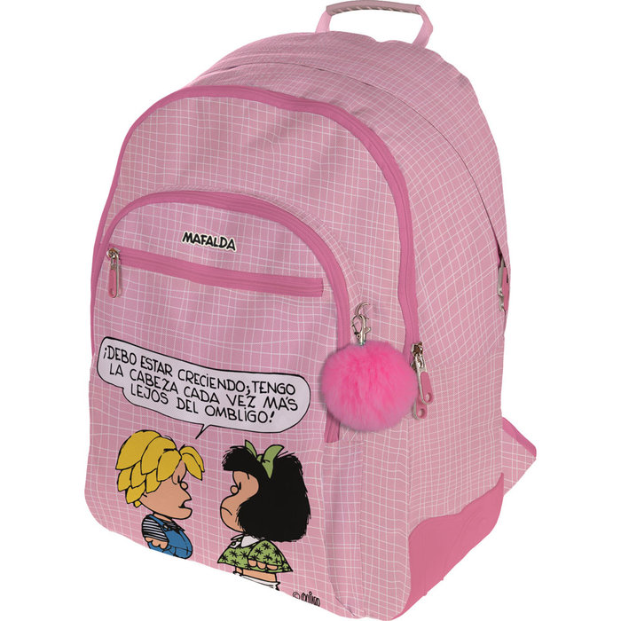 Mochila rubber mafalda 20 belly