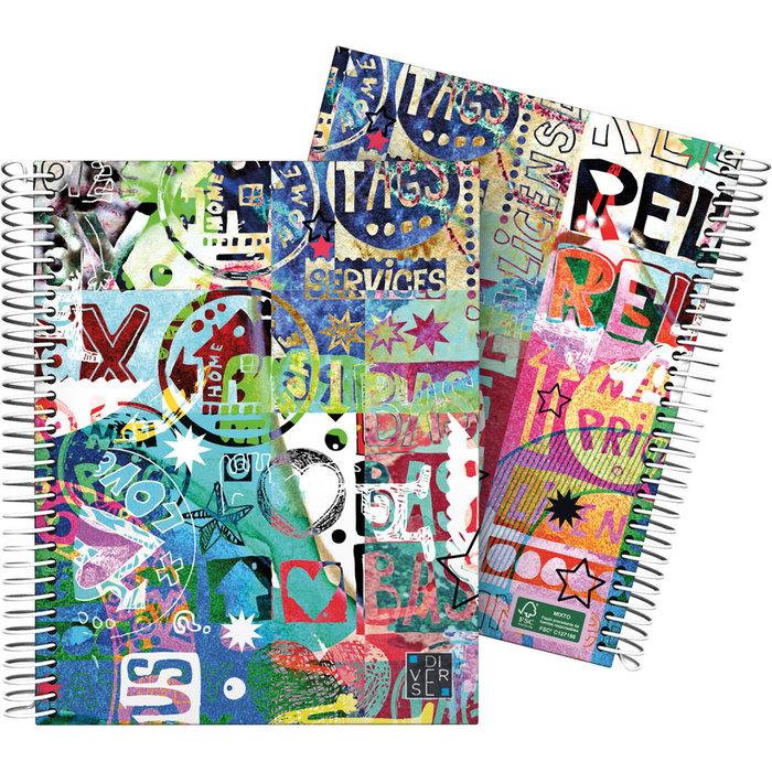 Cuaderno forrado a5 diverse 21 relax 1