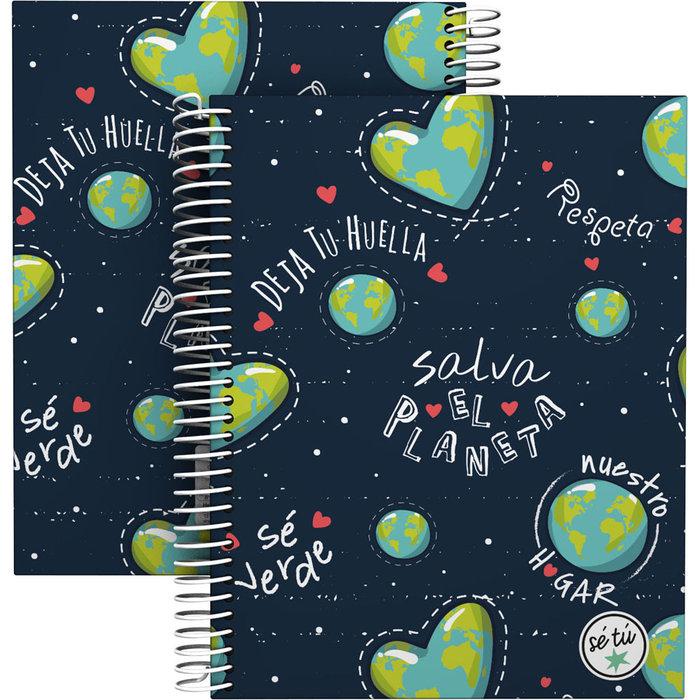 Cuaderno forado a5 se tu 21 planet