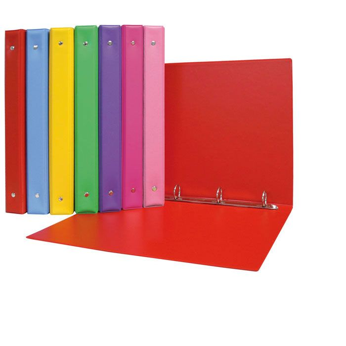 Carpeta 4º 4 anillas colors pvc violeta