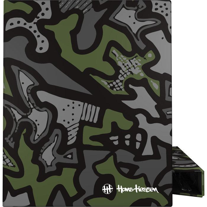 Carpeta anillas a4 forrada 4d25 hans19 urban green