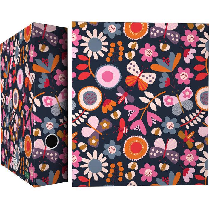 Carpeta 4 anillas 40mm forrada a4 jproust 20 garden