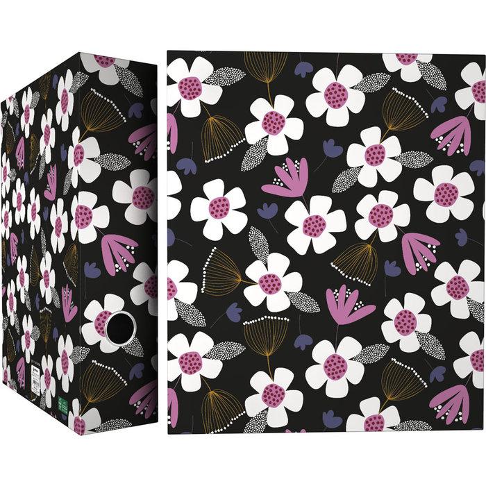 Carpeta a4 4 anillas 40mm forrada jproust 20 floral
