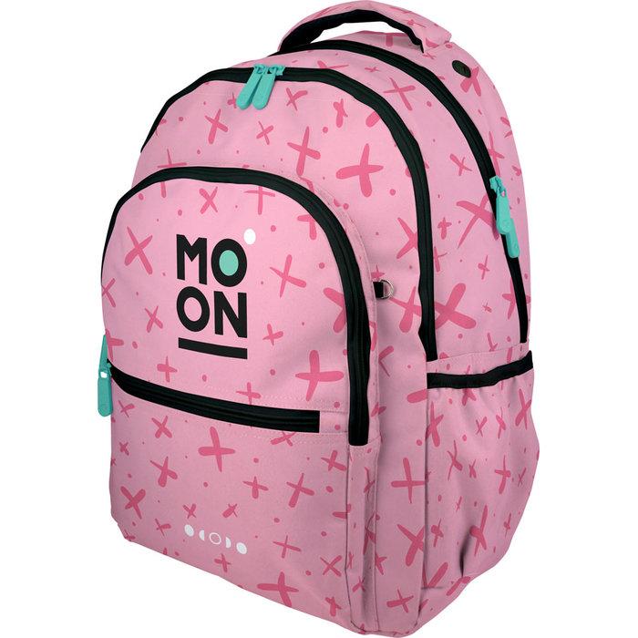 Mochila roomy moon rosa