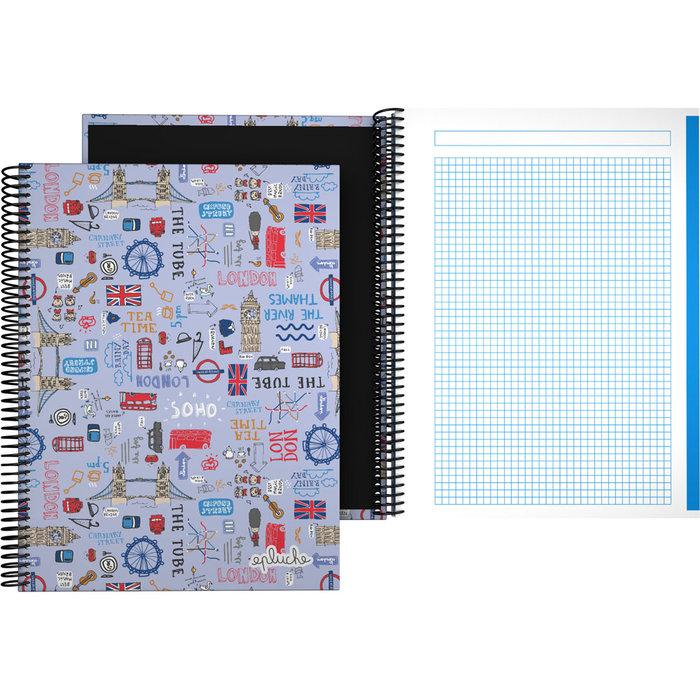 Cuaderno forrado a4 laurie 21 londres
