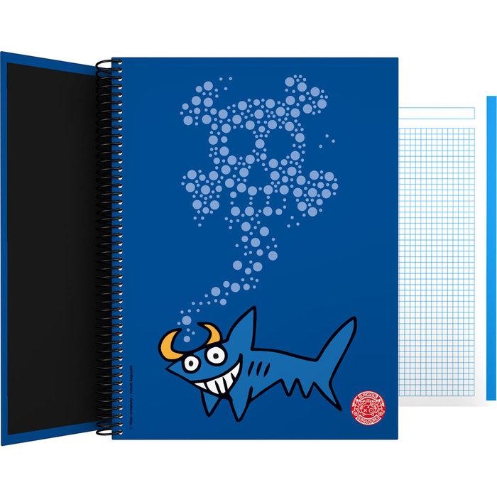 Cuaderno forrado a4 katuki 21 shark