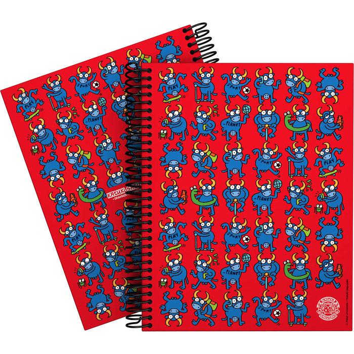 Cuaderno forrado a5 katuki 21 bull