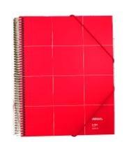 Carpeta maxiplas 30 fundas a4 unequal rojo