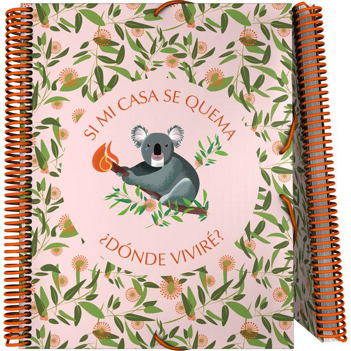 Carpeta 30 fundas maxiplas pp planet 21 koala