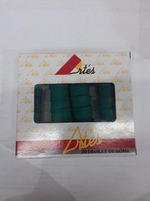 Dedil goma nº0 caja 20 unidades 17mm