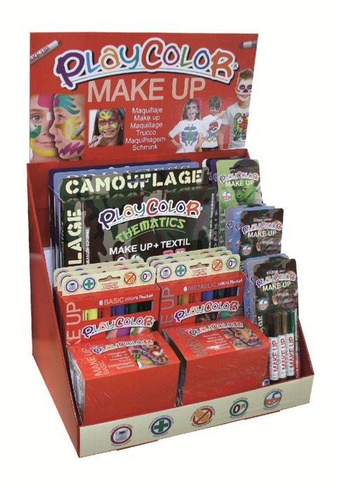 Maquillaje playcolor make up maxi expositor combinado