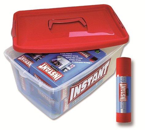 Pegamento en barra instant 20 gr pack 72 uds promo tupper
