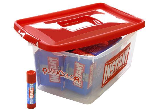 Pegamento en barra instant 40 gr pack promo tupper