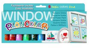 Rotulador playcolor window 6unid