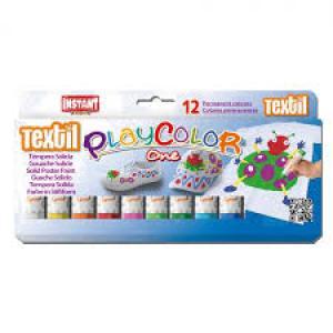 Pintura para ropa textil one estuche 12 colores surtidos