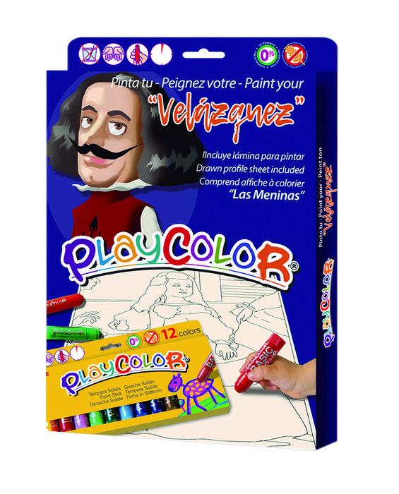 Playcolor pintores surtidos 2 unidades de cada pintor