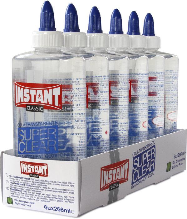 Cola transparente liquida instant superclear 266 ml