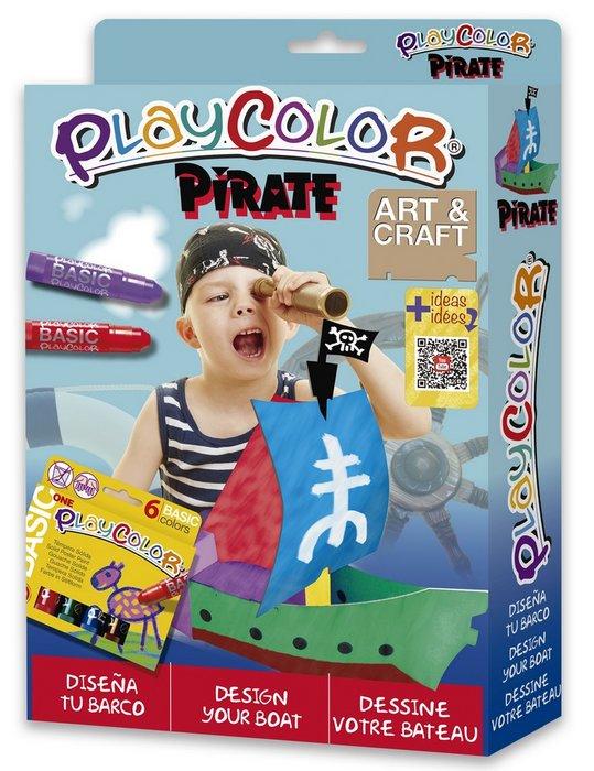 Kit manualidades playcolor pack pirata