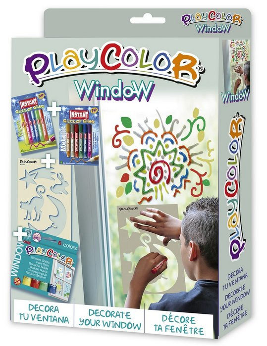 Kit manualidades playcolor pack window