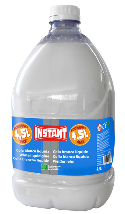 Cola blanca liquida en garrafa 4,5 l