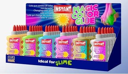 Expositor cola solar glue slime