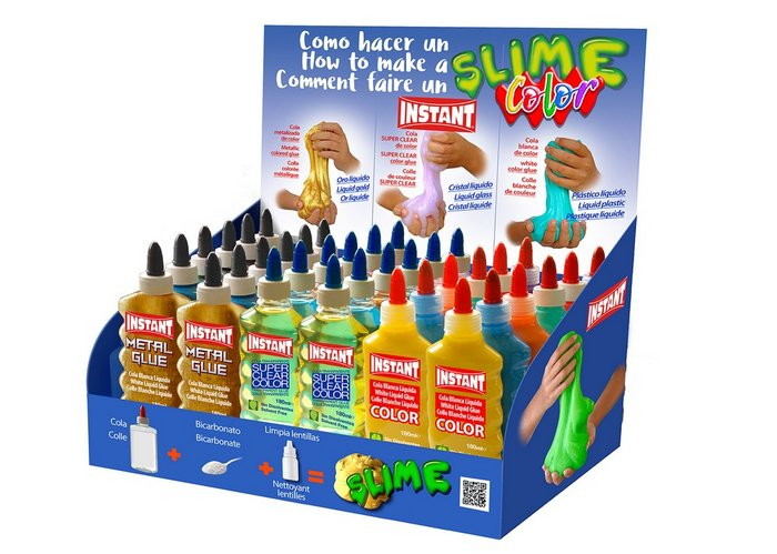 Expositor slime color