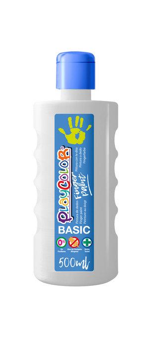 Pintura dedos playcolor finger paint basic 500 ml blanco