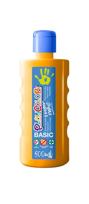 Pintura dedos playcolor finger paint basic 500 ml naranja