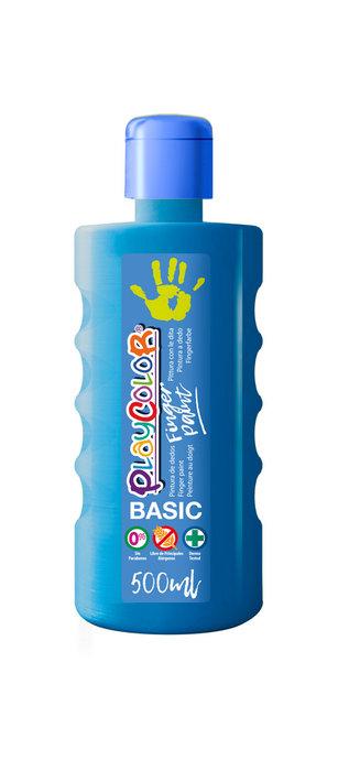 Pintura dedos playcolor finger paint basic 500 ml azul