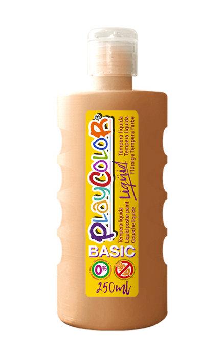 Tempera playcolor liquid basic 250 ml carne