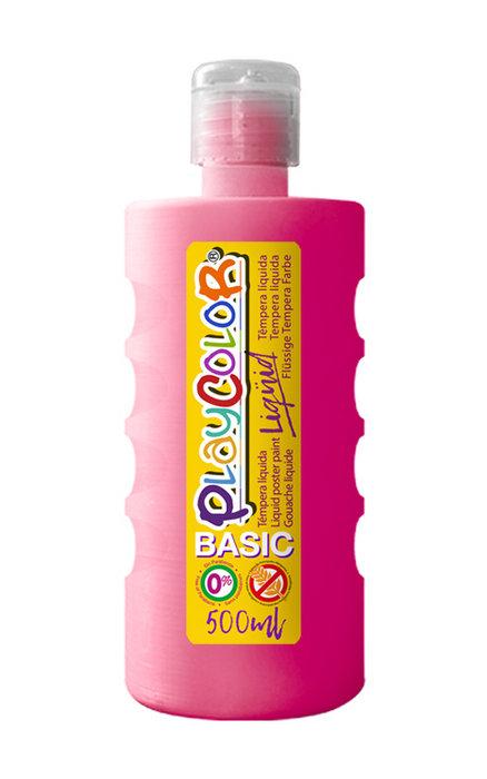 Tempera playcolor liquid basic 500 ml magenta
