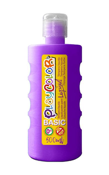 Tempera playcolor liquid basic 500 ml violeta